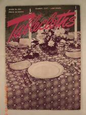 Tablecloths - The Spool Cotton Company Book 231 - 17 Crochet Patterns