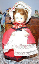 """Vintage Hard Plastic Ginny Type Made in England 8"""" Pedigree Doll Made in England"""