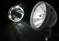 "NEW KIT CAR HEADLIGHT ANGEL EYE HEADLAMP 5 3/4"" BOTTOM MOUNT LED 'HALO RING'"