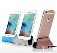 Sync Charging Dock Charger Station Desktop For iPhone X 8 7 6s 6 Plus 5S IPad