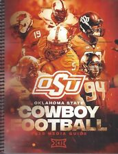 2018 OKLAHOMA STATE FOOTBALL MEDIA GUIDE  - NEW
