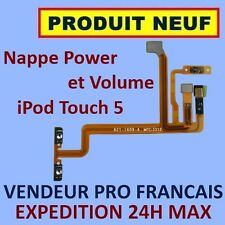 ✖ NAPPE BOUTONS POWER VOLUME MICRO ET FLASH IPOD TOUCH 5 FLEX ✖ NEUF GARANTI ✖