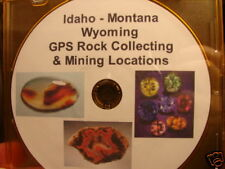 Idaho Montana Rock Collecting Mine Gps Locations Pdf Download
