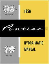 1956 Pontiac Hydra-Matic Transmission Repair Shop Manual Automatic Service Book