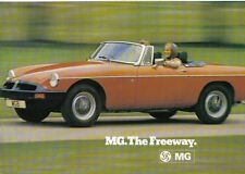 MG Midget 1500 MGB MGB GT & V8 1975-76 Original Sales Brochure Pub. No. 3148