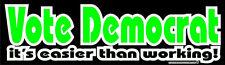 Abstimmung Demokrat ist es einfacher, dann die konservative Rechte Aufkleber Decal DC 013