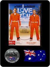 I Love You Phillip Morris (DVD) Region 4 - Jim Carrey - Ewan McGregor -BIOGRAPHY