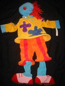 NEW Disney JoJo Circus CLOWN Halloween Costume jo 2T 2 3T 3 XXS JOJOS Girl Boy
