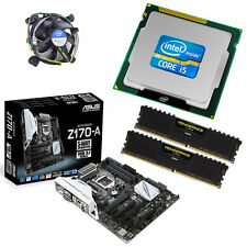 Intel i5 6600K Quad Core 3.90GHz 16GB ASUS Z170-A Motherboard Bundle
