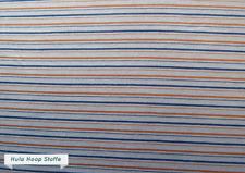Jersey Stoff Baumwolle, Streifen, Muster, Blau, Meterware, Kinderstoffe