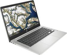 NEW HP 14'' HD Chromebook Intel N5000 2.7GHz 64GB eMMC 4GB RAM Mic BT Webcam