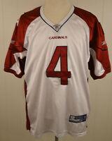Reebok Arizona Cardinals Onfield NFL Jersey Kevin Kolb #4 size 52 White Sewn