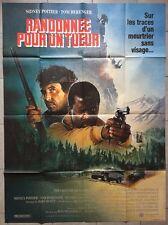 Affiche RANDONNEE POUR UN TUEUR Shoot to kill SIDNEY POITIER Berenger 120x160cm*