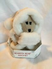 Starbucks Bearista Bear Winter 2004 37th Mrs. Claus Christmas Magnet NIB