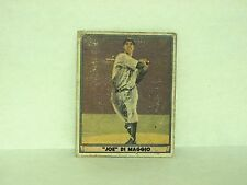 Joe DiMaggio 1941 Play Ball vintage baseball card New York Yankees HOF