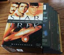 Star Trek: The Original Crew Movie Collection (DVD, Widescreen) 1 2 3 4 5 6 RARE