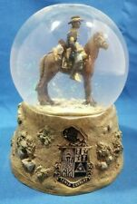 Sarah's Attic SnowGlobe Tenth Cavalry Buffalo Soldiers Westland #S407 Very Rare!