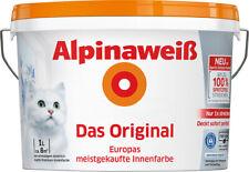 Alpinaweiß Minipack 1L, Alpina, Innenfarbe, Wandfarbe, weiß/matt, bis zu ca.8m²