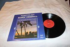 Buddy Merrill & His Hawaiian Guitars LP-BEYOND THE REEF STEREO