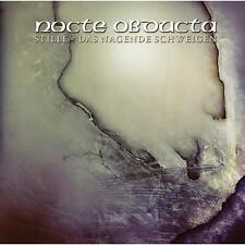 NOCTE OBDUCTA - Stille, das nagende Schweigen CD (Mystic Empire, 2007) *Black