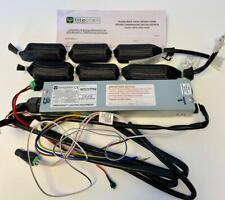 LED emergency light 3hr battery back up escape exit lighting