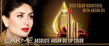 Lakme Absolute Argan Oil Lip Color (3.4gm)