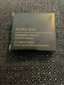Mary Kay The Perfect Present LIP COLOR COMPACT ~ Discontinued
