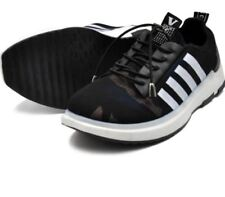 Tanggo Fashion Sneakers Korean Mesh Shoes for Men D-25 (black)Size 39