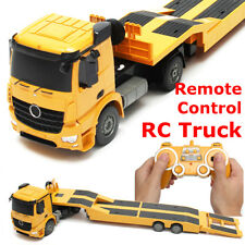 Remote Control RC Truck Flatbed Semi Trailer Kid Electronics Hobby Toy for Kids