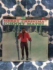 """Johnny Mathis """"Merry Christmas"""" Columbia Records. Original, good condition!"""