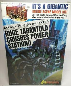 MPC Original Huge Tarantula Crushes Power Station! Model Kit 1975