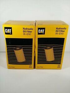 CATERPILLAR HYDRAULIC OIL FILTER 1R-0741 LOT OF 2