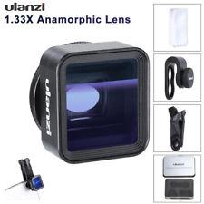 UK Ulanzi 17mm 1.33X Anamorphic Widescreen Mobile Phone Wide-Angle Shooting Lens