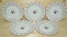 "Haviland Limoges Lutetia  (5) Bread & Butter Plates 6 3/8"""