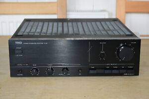 Trio A-3X Stereo Integrated Amplifier Made In Japan - Phono Input For Vinyl