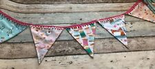 Haberdashery Bunting Fabric Large Flags Banner Decoration