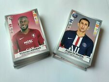 PANINI FOOT LIGUE 1 LIGUE 2 2019 2020 LOT DE 20 IMAGES STICKERS AU CHOIX