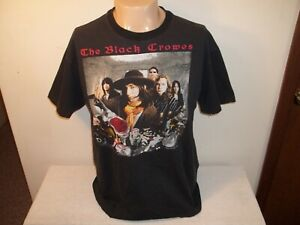 Vtg 1992 THE BLACK CROWES HIGH AS THE MOON CONCERT TOUR 2 SIDED T-SHIRT L/XL