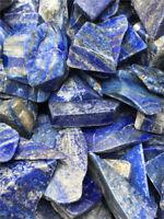 Wholesale LAPIS LAZULI Afghanistan 35-80mm Tumbled Chunk Chips 11 lb Bulk Stones