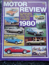 DAILY MAIL MOTOR REVIEW 1980 jm
