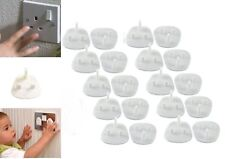 12 Child Safety UK Plug Socket Covers Mains Electrical Protector Inserts Guard