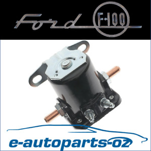 Starter Motor Solenoid Ford  F100 F250 F350 1960 - 1979; 6 Cyl and V8