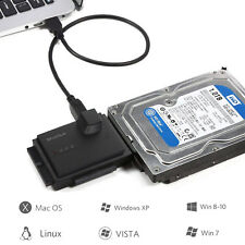 USB 3.0 to SSD/SATA/IDE CASE Adapter for 2.5/3.5/5.25 Inch Hard Drives Toolfree