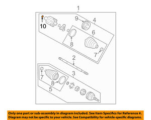 GM OEM Drive Axles-Front-Retainer Ring 12369463