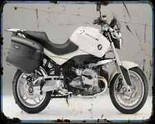 Bmw R 1200R Touring Special 2 A4 Metal Sign Motorbike Vintage Aged