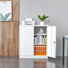 Metal File Cabinet Home Office Tool Storage With Adjustable Shelf Amp Lockable Door
