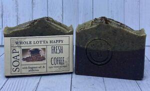 BULK 3 Pack Handmade ~ FRESH COFFEE ~ Fragrance Oil Soaps AUSTRALIAN MADE