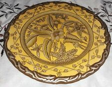 """Toyo Designed By Raymond Waites Heavy 10"""" Decorative Floral Plate Not For Food"""