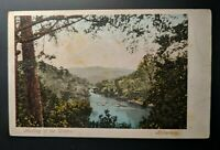 1904 Meeting the Waters Killarney to Dublin Ireland Real Picture Postcard Cover
