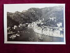 Postcard Italy, Portofino - Panorama, Echtfoto um 1930